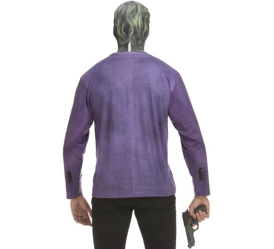 Camiseta disfraz Joker Oscuro para hombre-B