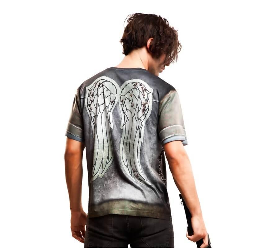Camiseta disfraz Motorbiker para hombre-B