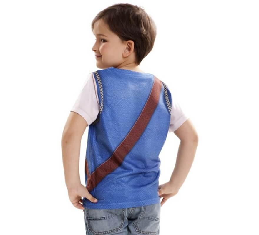 Camiseta disfraz Pirata para niño-B