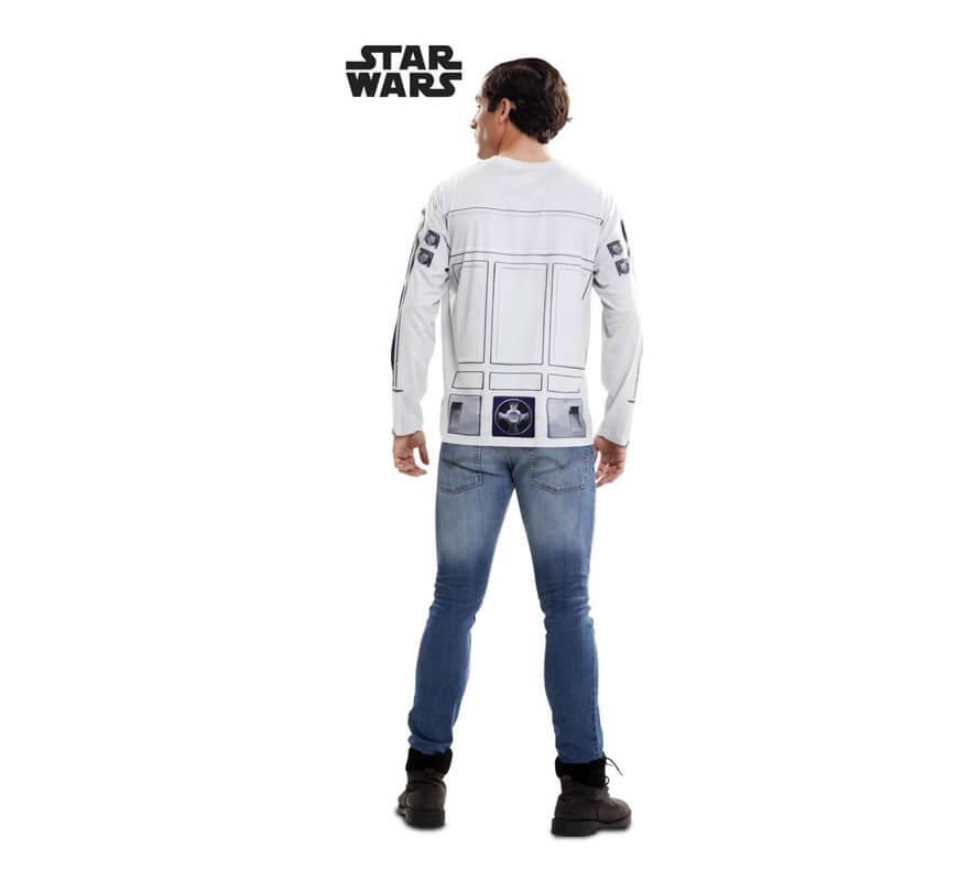 Camiseta disfraz R2-D2 de Star Wars para hombre-B