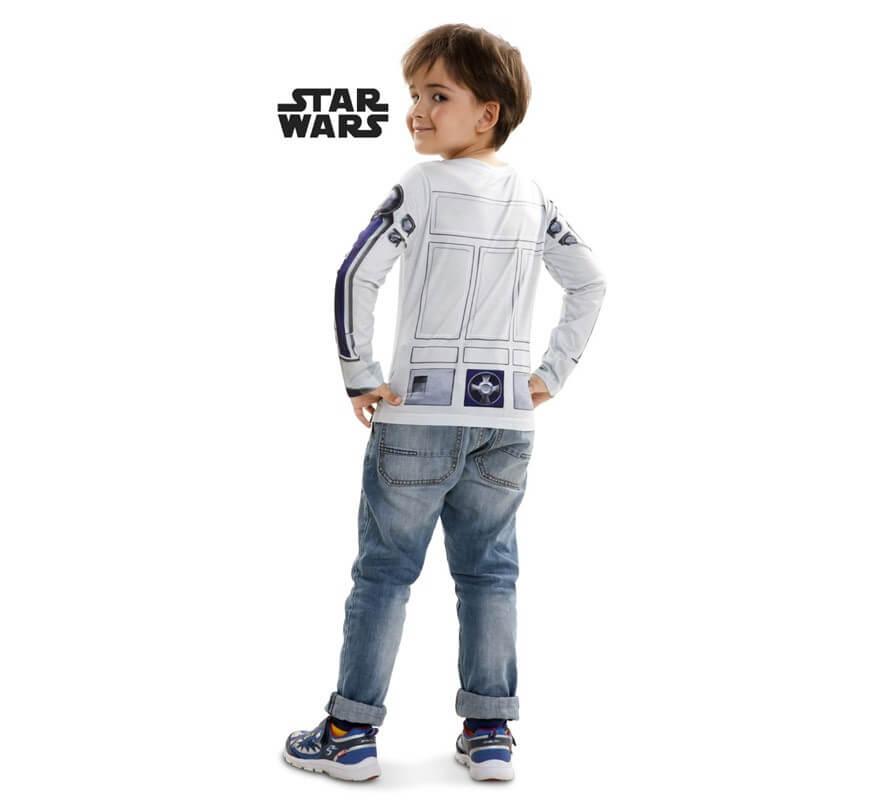 T-shirt da Costume r2-d2 star wars per ragazzo-B