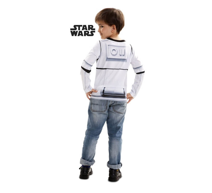 Camiseta disfraz Stormtrooper de Star Wars para niño-B