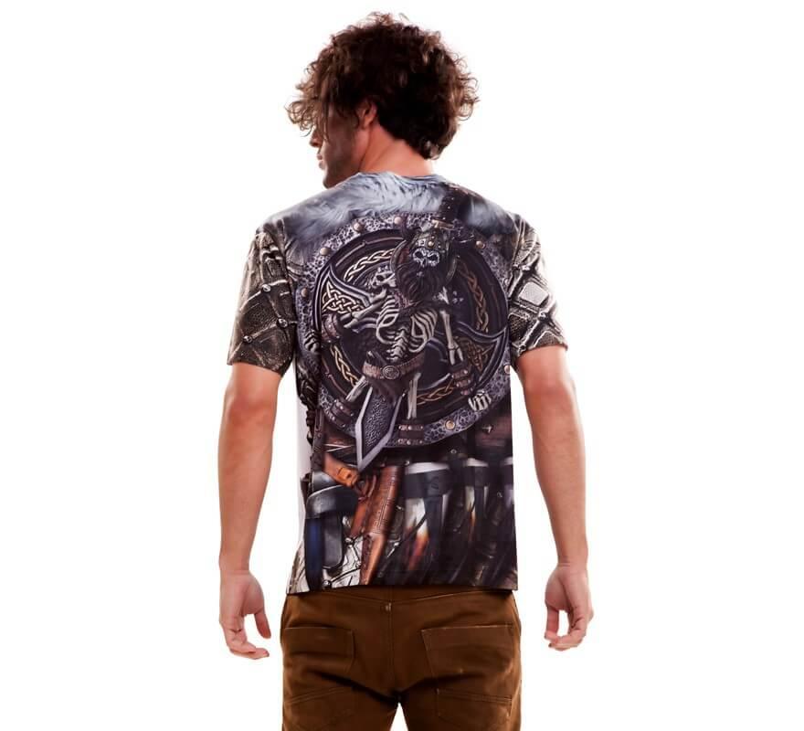 Camiseta disfraz Viking Boy para hombre-B