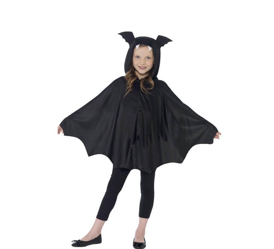 Capa o Disfraz de Murciélago Unisex para niños-B