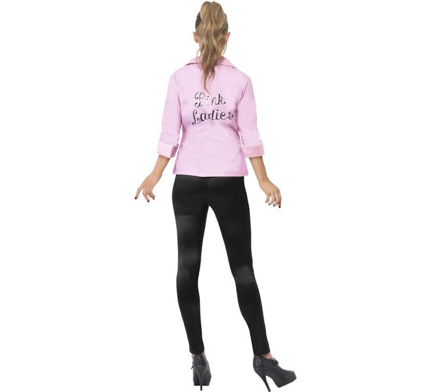 Cazadora de las Pink Ladies de Grease para mujer-B