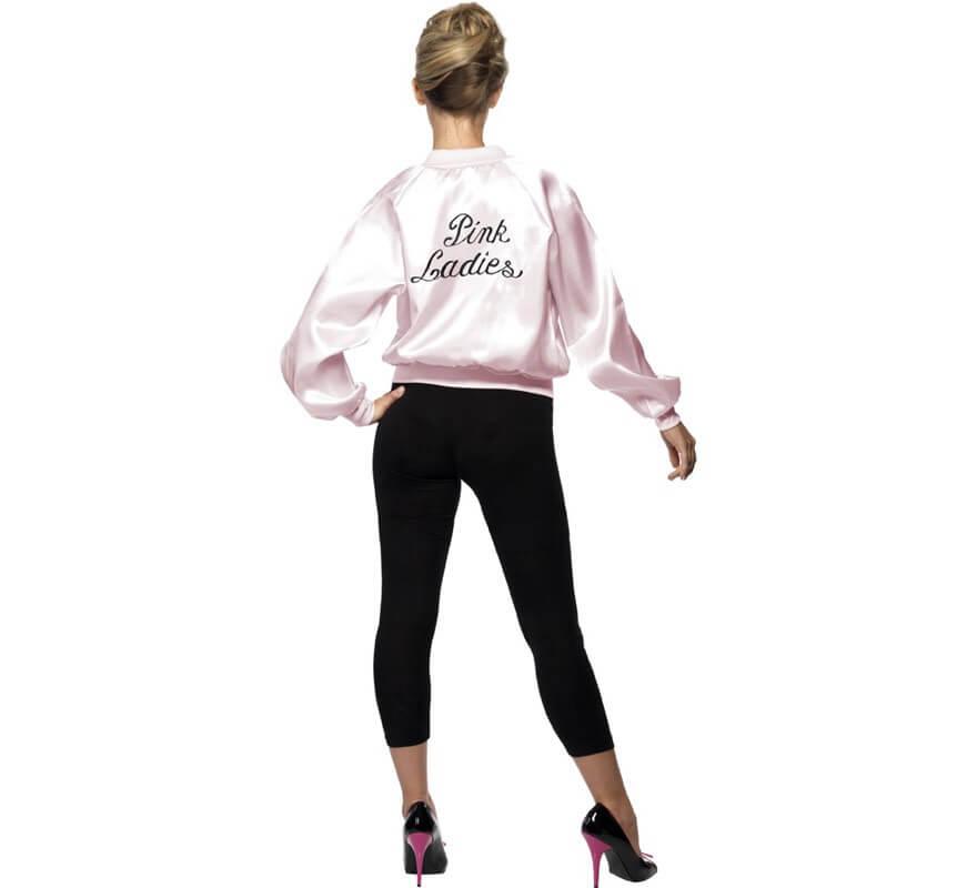 Chaqueta Pink Ladies con logo bordado mujer-B