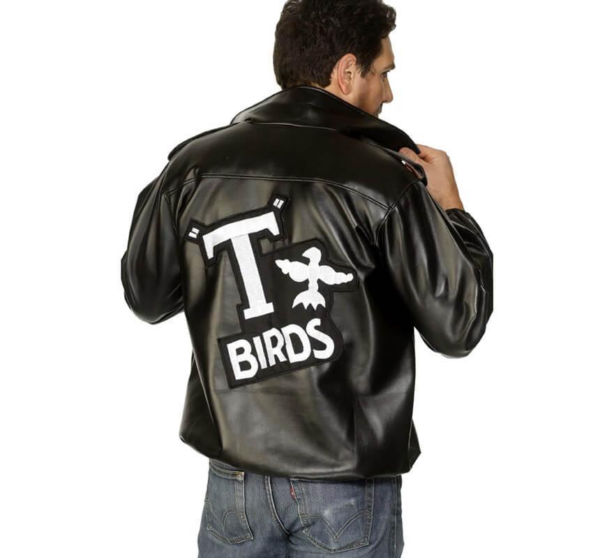 Chaqueta T-Birds de Grease con logo bordado hombre-B
