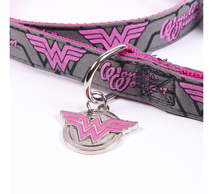 Correa para Perros Wonder Woman-B