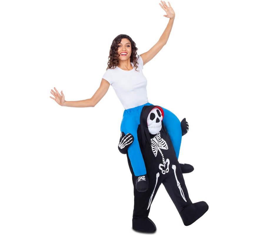 Disfraz a hombros de Esqueleto para adultos-B
