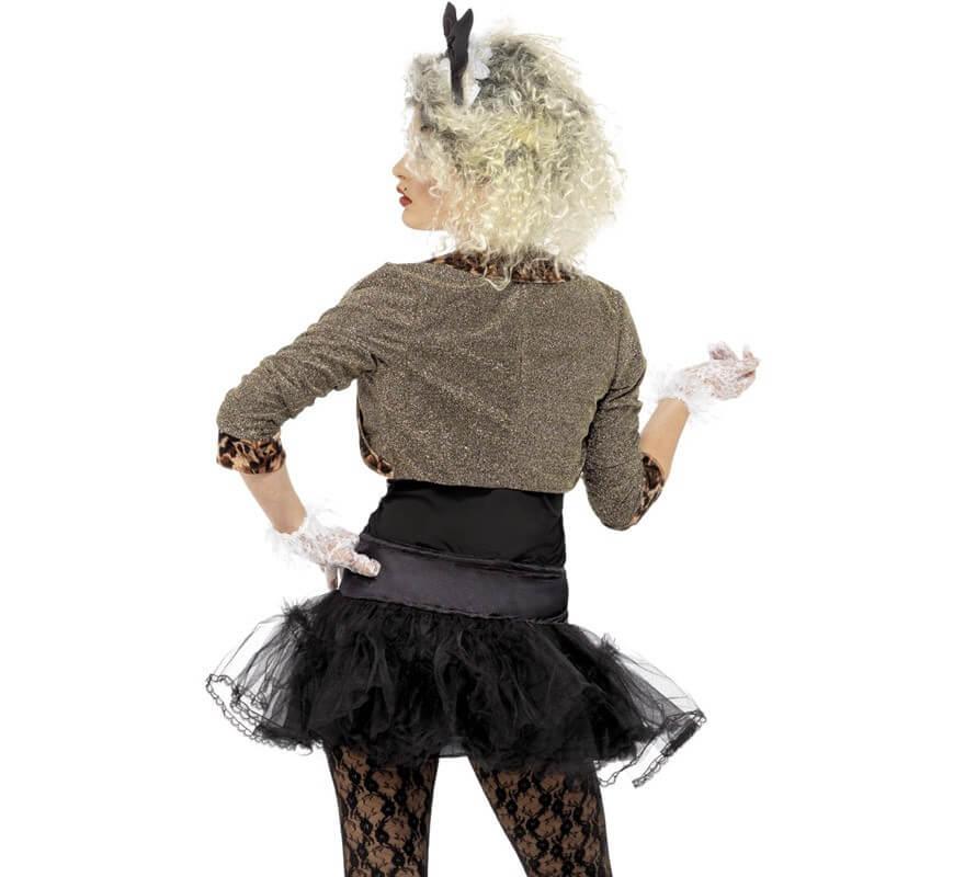 Disfraz Adolescente Rebelde de los 80 para Mujer-B