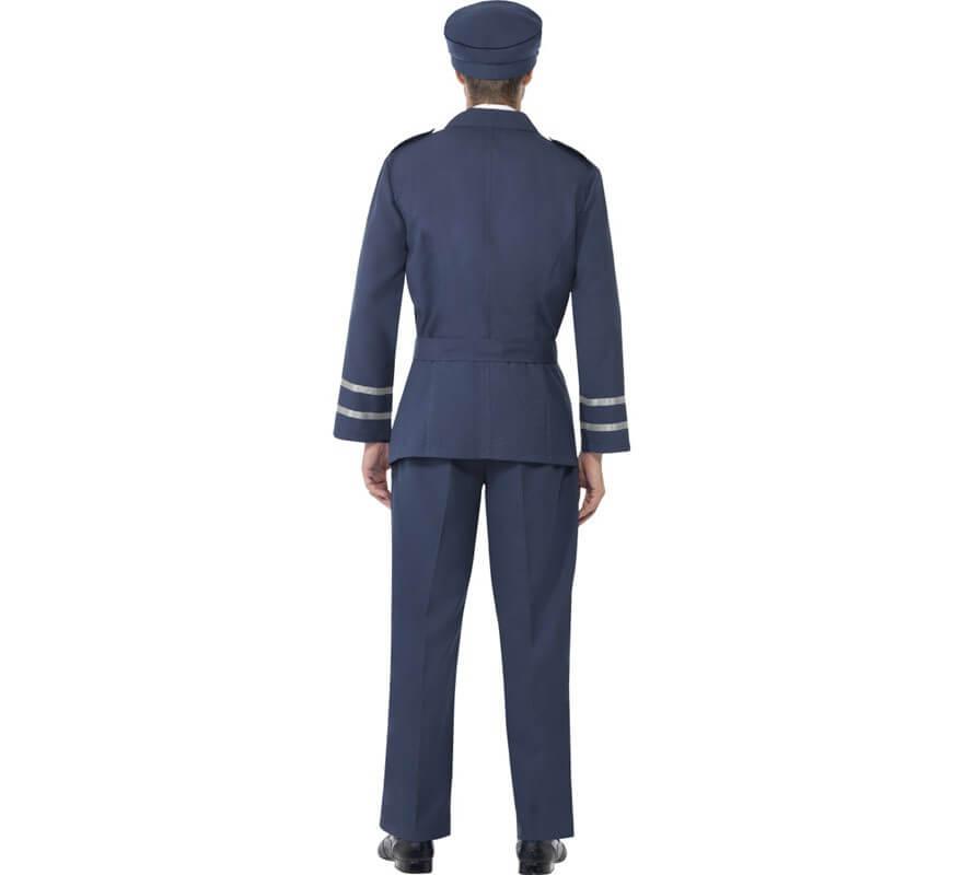 Disfraz Capitán de las Fuerzas Aéreas para Hombre-B