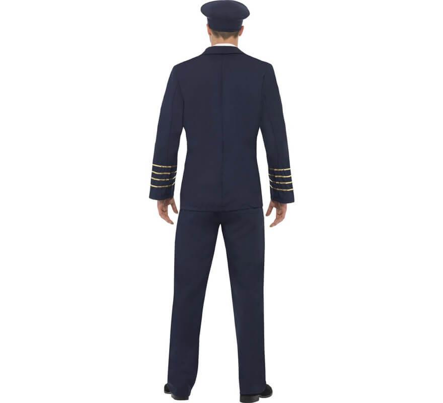Disfraz Capitán de Vuelo Comercial para Hombre-B