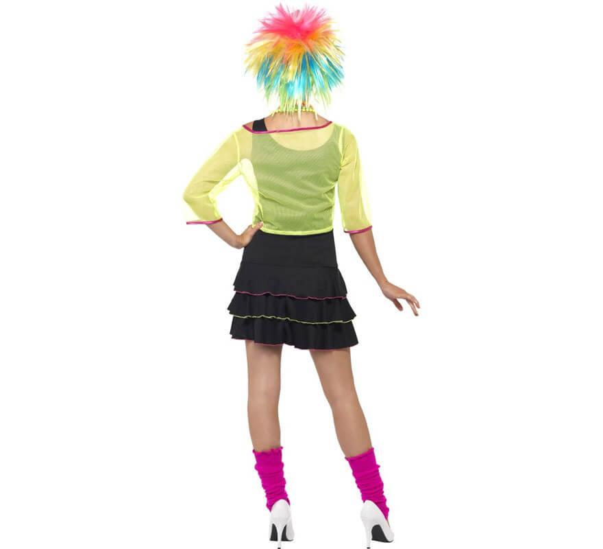 Disfraz Chica Pop de los Años 80 para Mujer-B