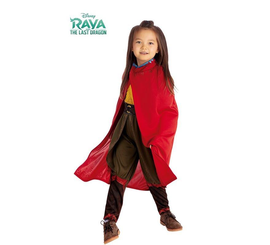 Déguisement Classic cape Raya et le dernier dragon de Disney pour fille-B