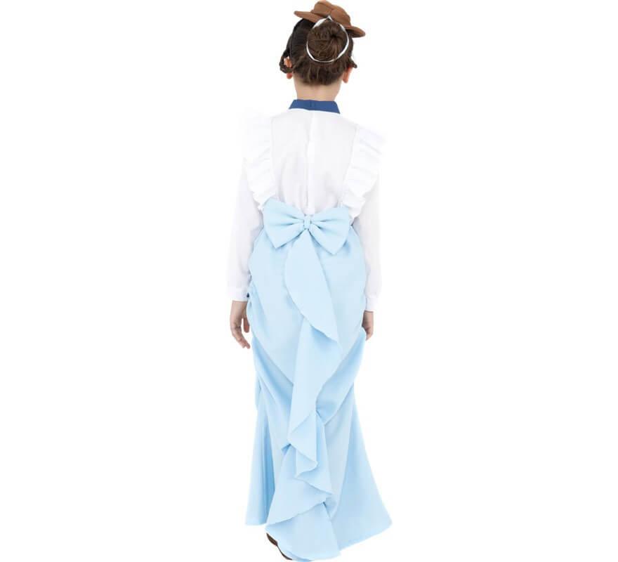 Disfraz Dama Victoriana Elegante para Niñas-B