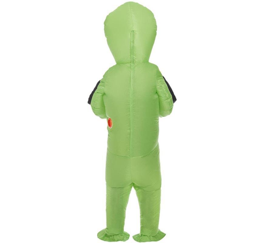 Disfraz de Abducción Extraterrestre Hinchable para adulto-B