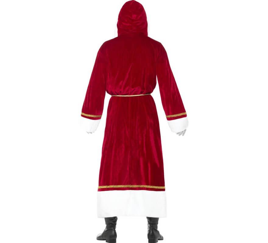 Disfraz de Abrigo de Papá Noel para hombre-B