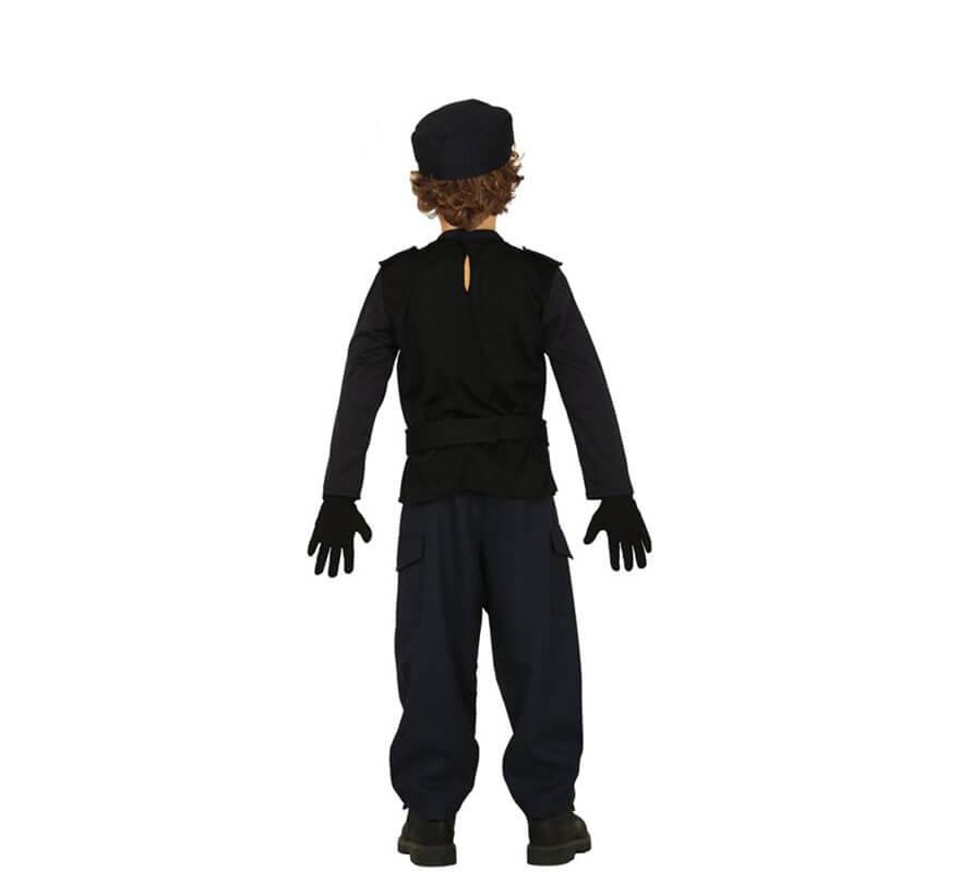 Disfraz de Agente Swat para niño-B