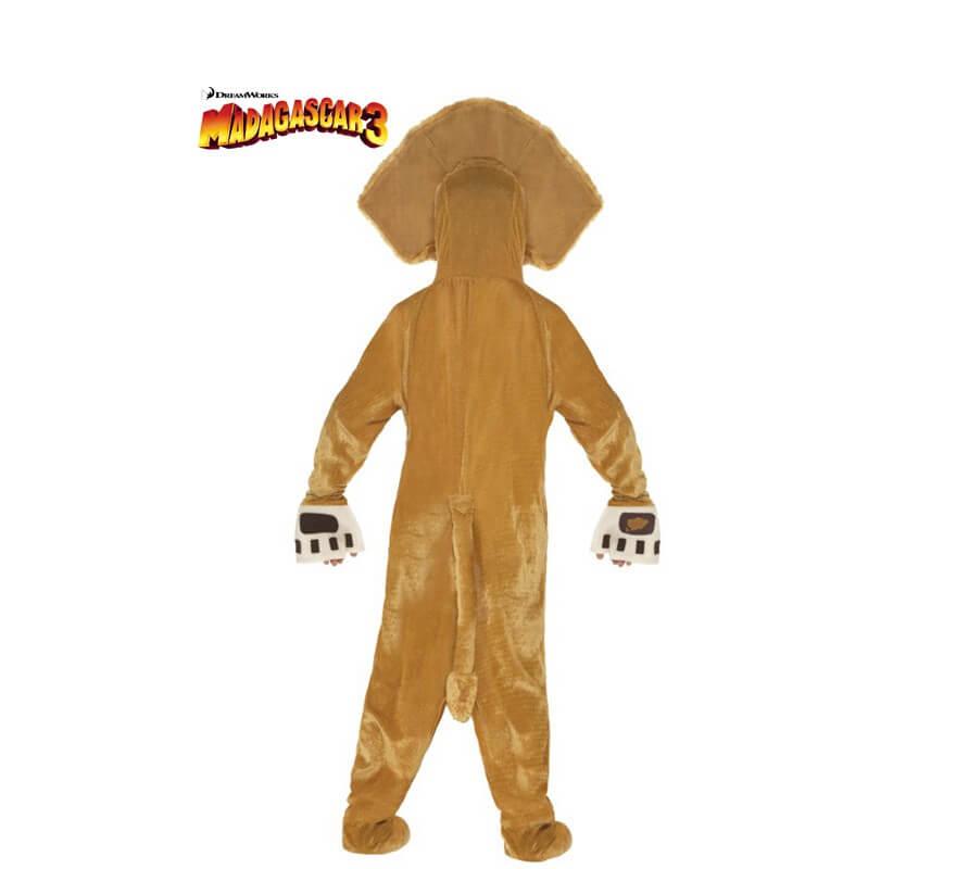 Disfraz de Alex el León de Madagascar para niños-B
