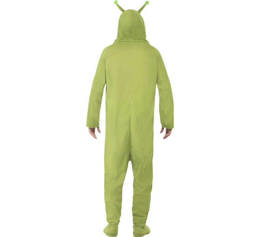 Disfraz de Alien verde para hombre-B