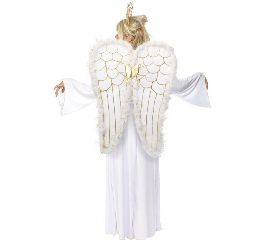Disfraz de Ángel Blanco para mujer-B