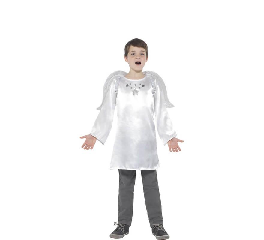 Disfraz de Ángel Blanco para niña-B