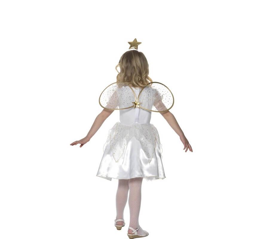 Disfraz de ngel con estrella para ni a - Disfraces de angel para nina ...