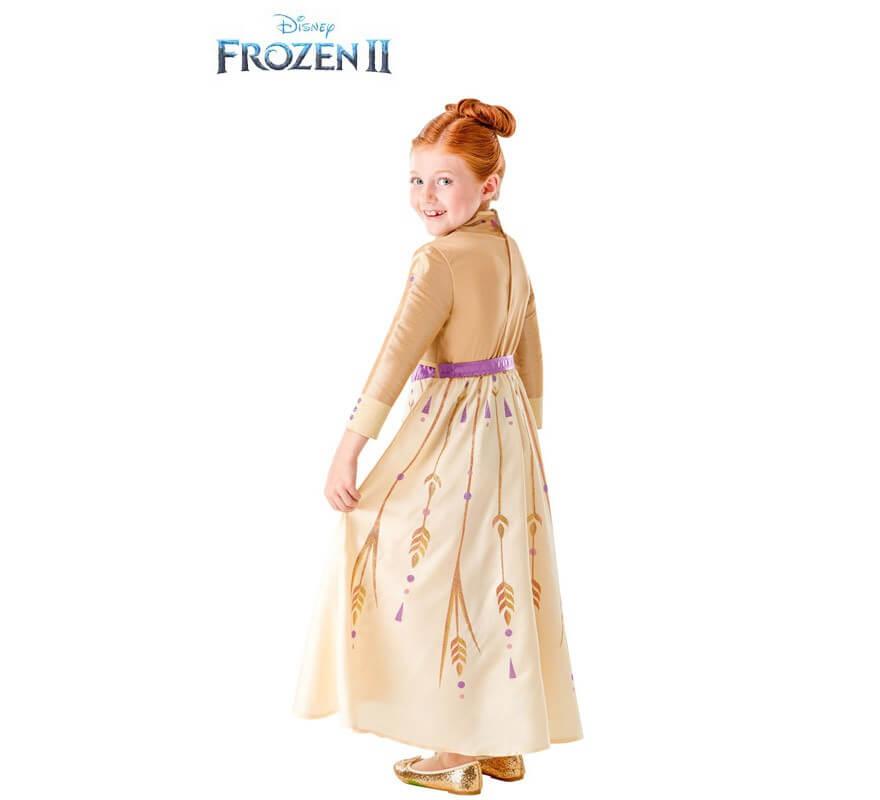 Disfraz de Anna Dorado de Frozen 2 para niña-B