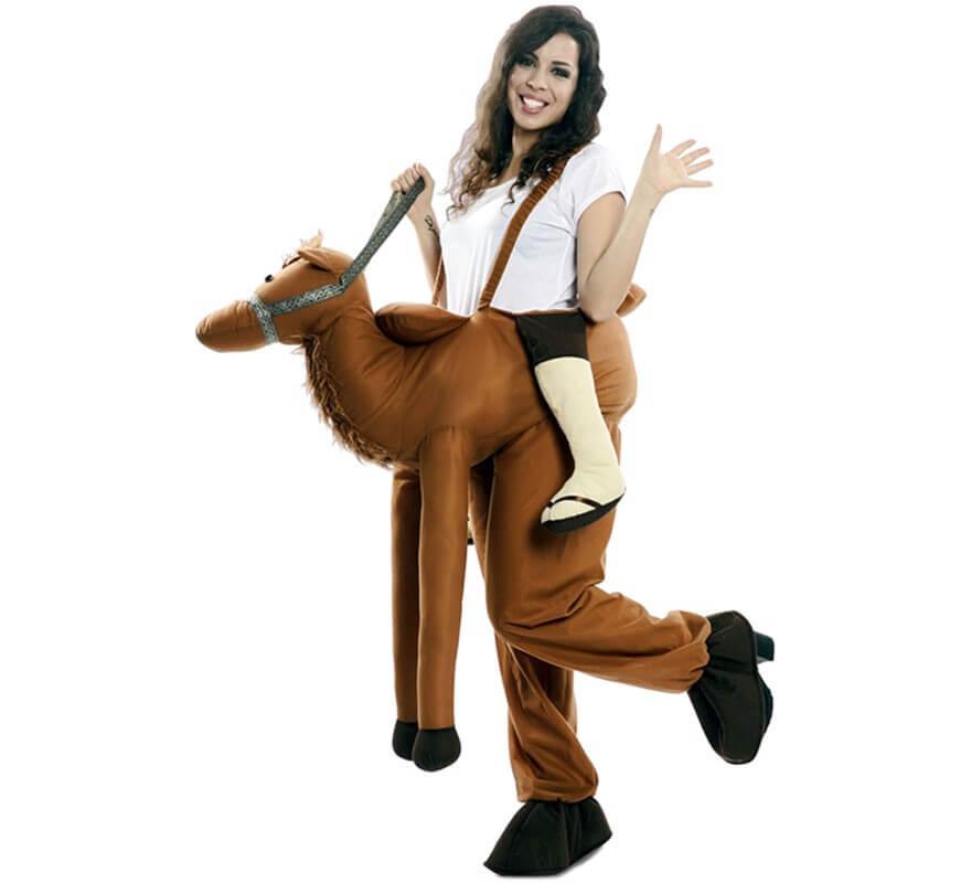 Disfraz de Árabe montado en Camello para adultos-B