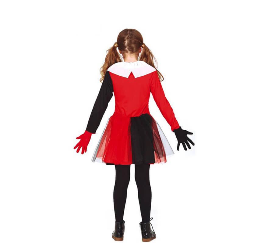 Disfraz de Arlequina para niña-B