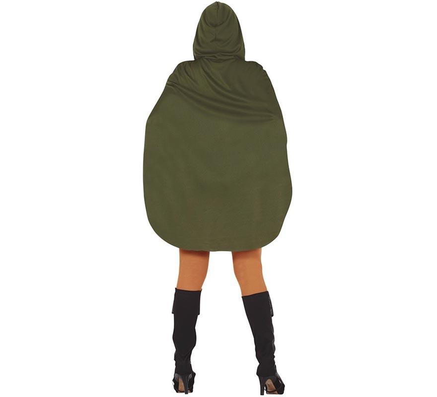 Disfraz de Arquera Verde para mujer-B