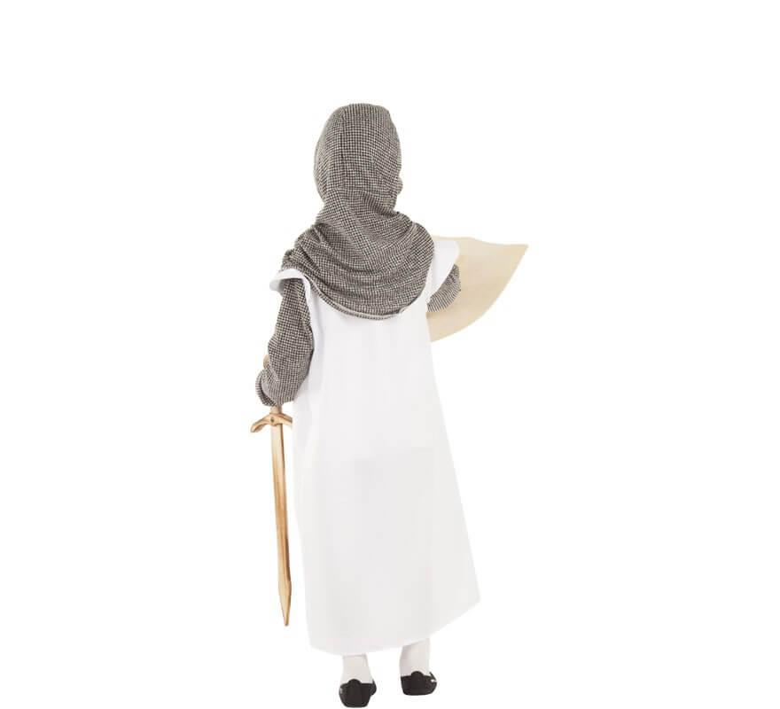 Costume da mitragliere medievale per bambini-B