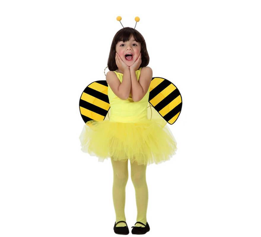 Disfraz de Bailarina Amarillo para Niña-B