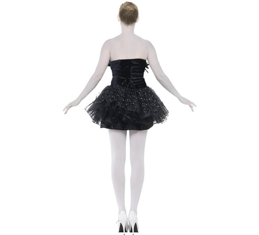 Disfraz de Bailarina Clásica Negro para Mujer-B