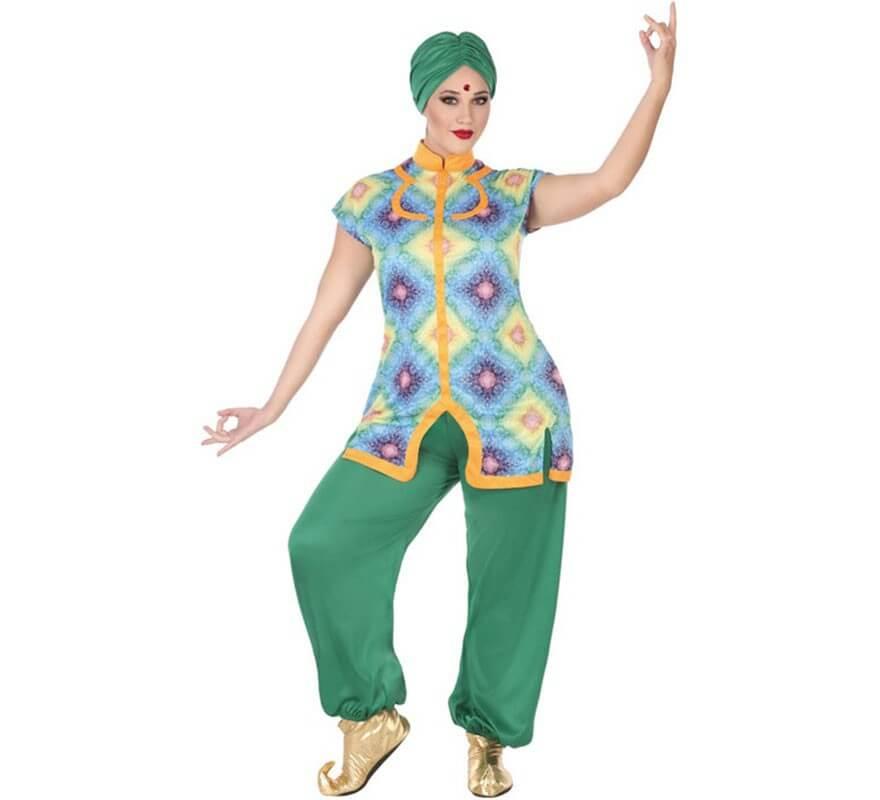 Disfraz de Bailarina Hindú para mujer-B