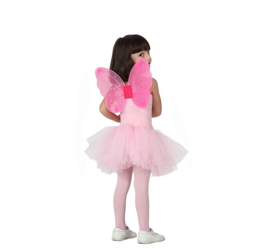 Disfraz de Bailarina Rosa para Niña-B