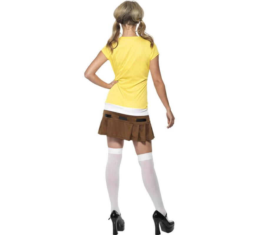 Disfraz de Bob Esponja para mujer-B