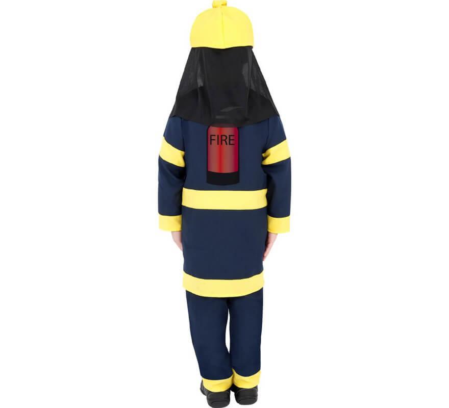 Disfraz de Bombero para Niño de 7 a 9 años-B