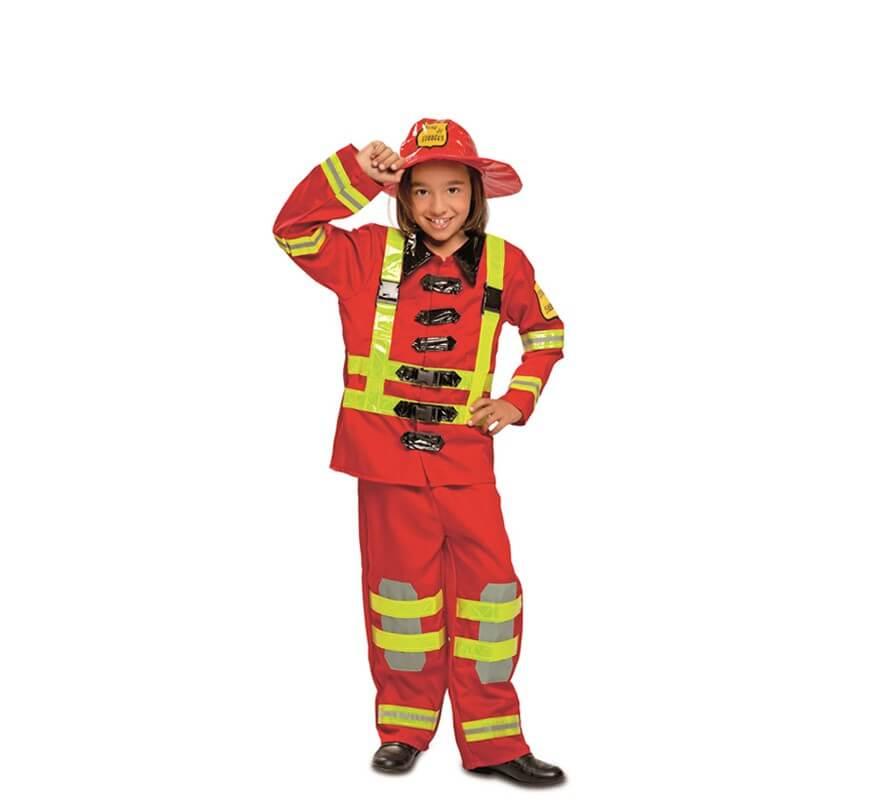 Disfraz de Bombero para Niños-B