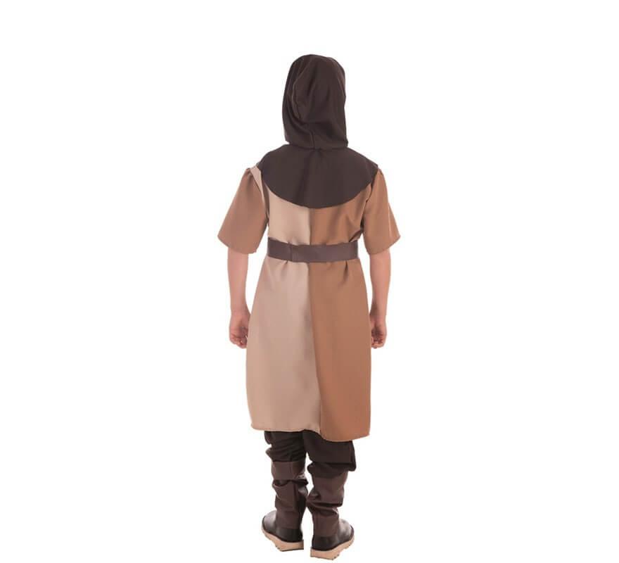 Disfraz de Caballero Medieval Marrón para niño-B