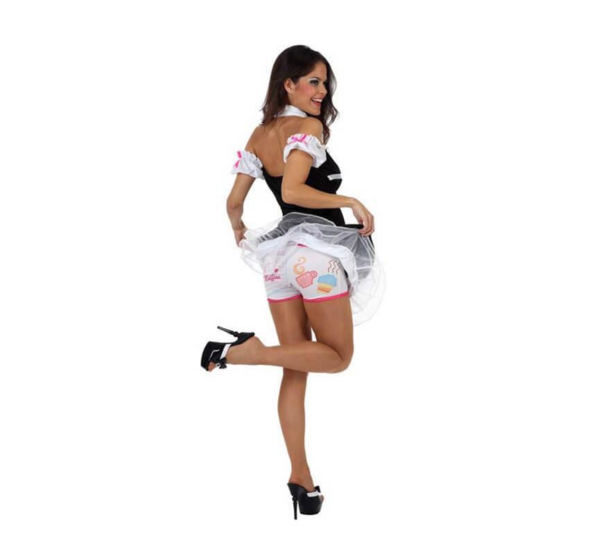 Disfraz de Camarera Sexy para mujer-B