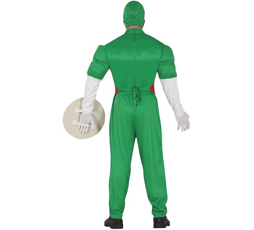 Disfraz de Capitán Cerveza Verde para hombre-B