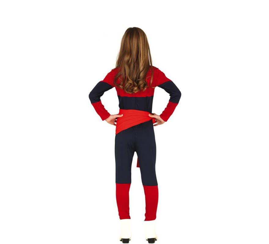 Disfraz de Capitana Espacial para niña-B