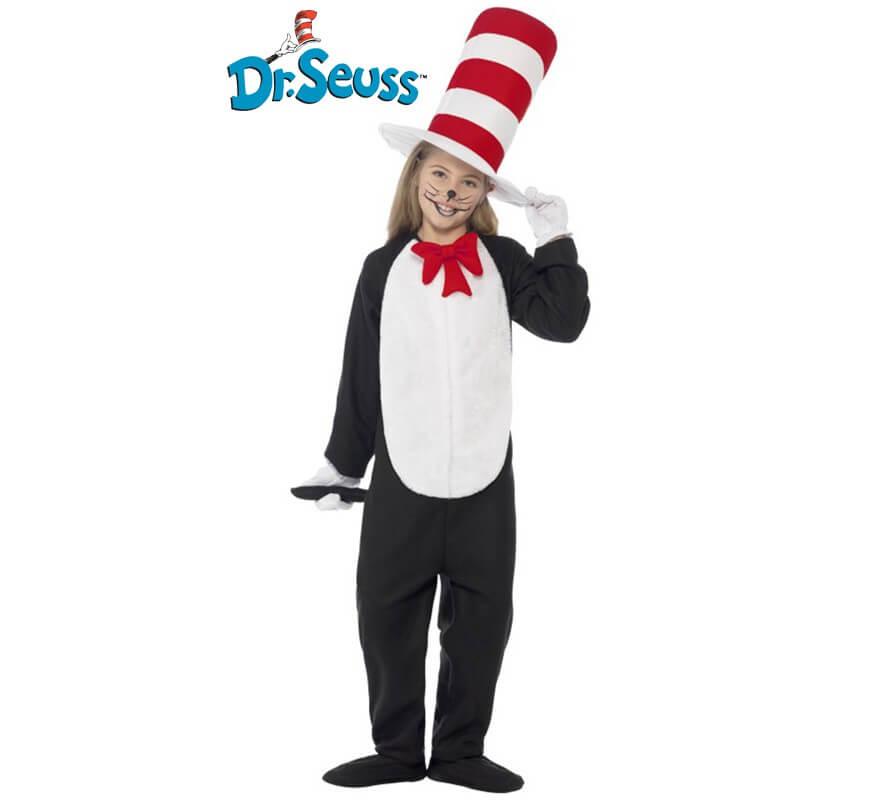 Disfraz de Cat in the Hat para niños-B