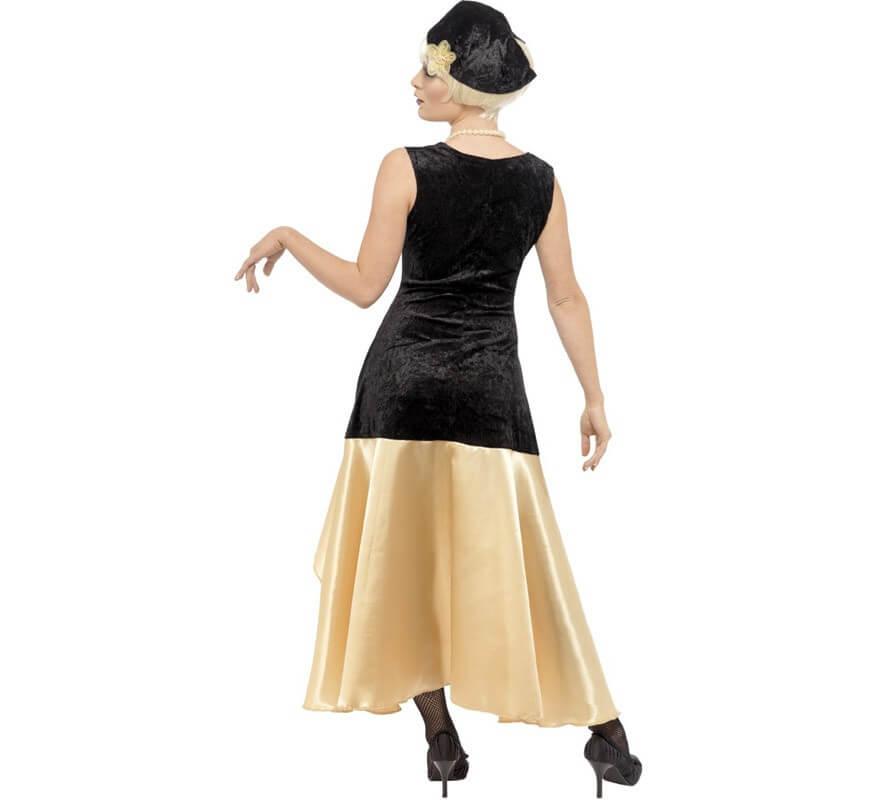 Disfraz de Charlestón de los Años 20 para chicas-B