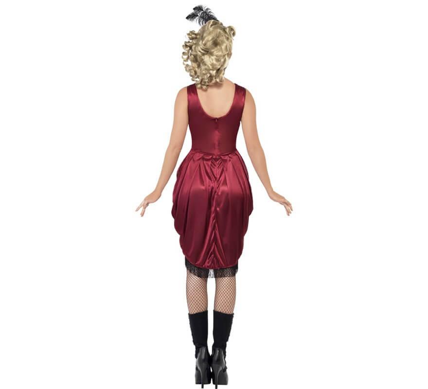 Disfraz de Chica de Bar del Oeste para mujer-B