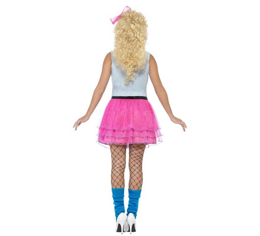 Disfraz de Chica de los Años 80 para mujer-B