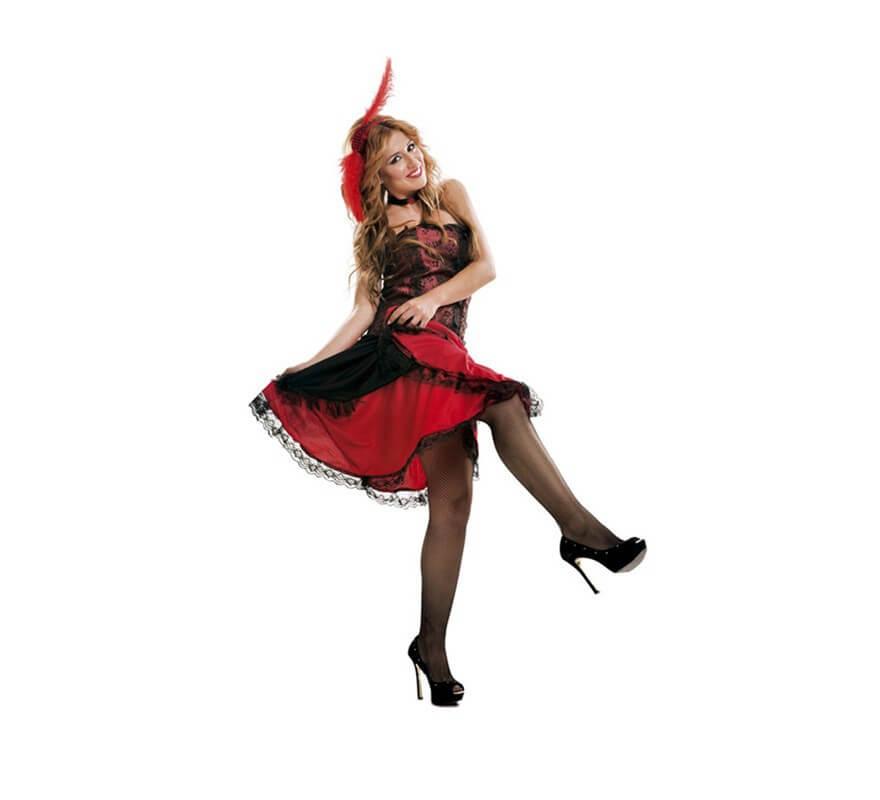 Disfraz de Chica de Saloon del Oeste para Mujer talla M-L-B