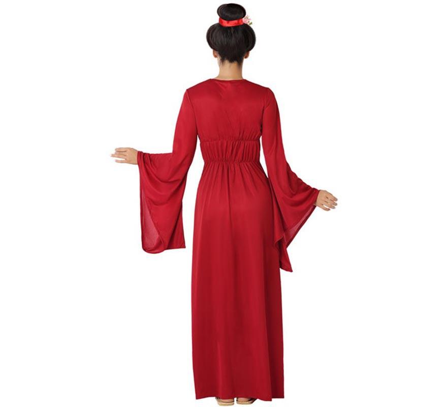 Disfraz de China Rojo y Azul para mujer-B