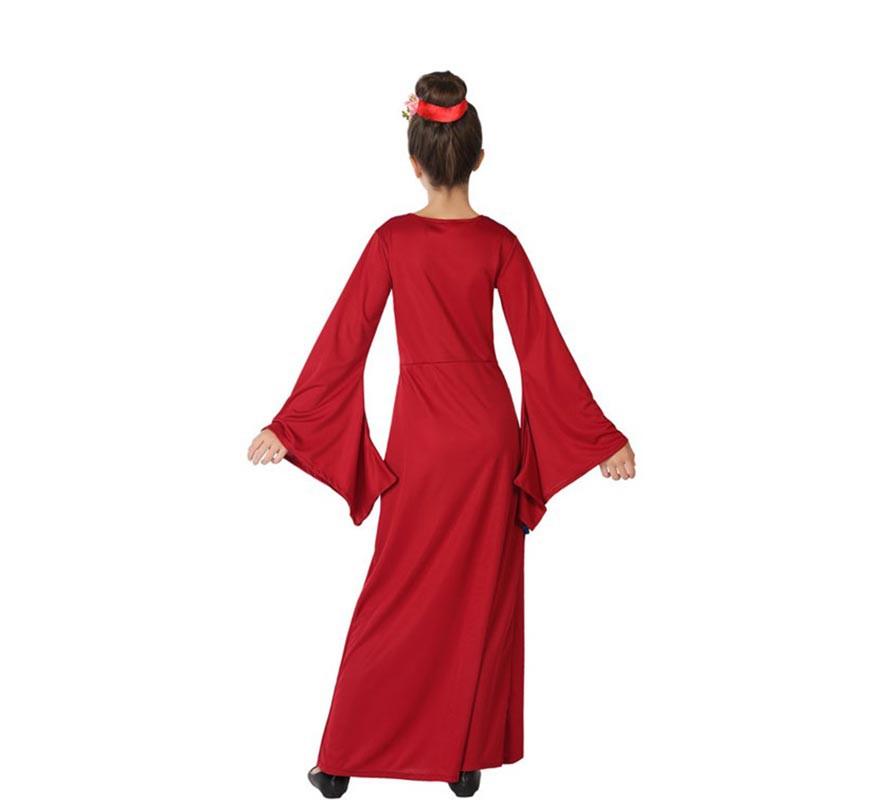 Disfraz de China Rojo y Azul para niña-B